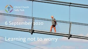 Title graphic: Learning not to worry