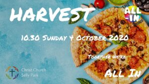 Title graphic for Harvest service 2020