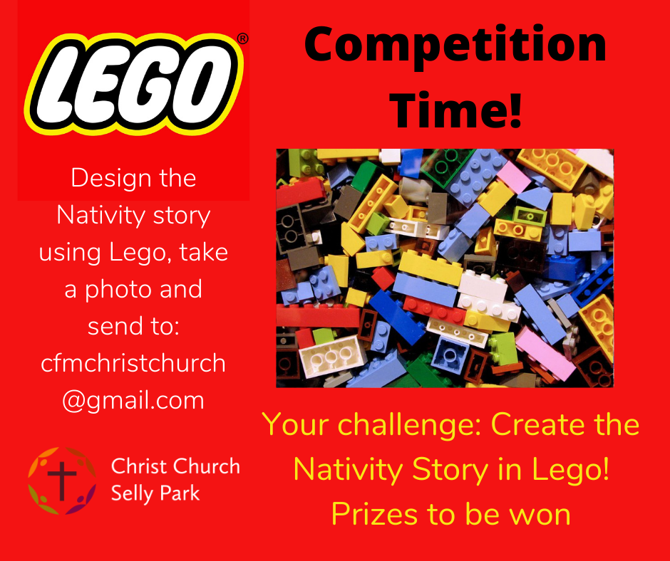 Graphic for Lego Nativity competition
