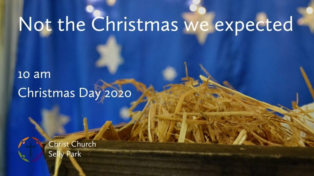 Title graphic: Christmas Day 2020 service