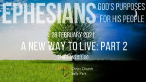 Title graphic for Sunday service 28 February 2021