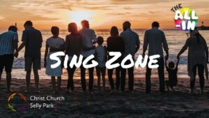 Title graphic: Sing Zone