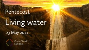 Title graphic for Sunday service 23 May 2021